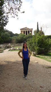 Agora antiga, Atenas, Grécia... #atenas #acropole #grecia #viajarcorrendo #agora
