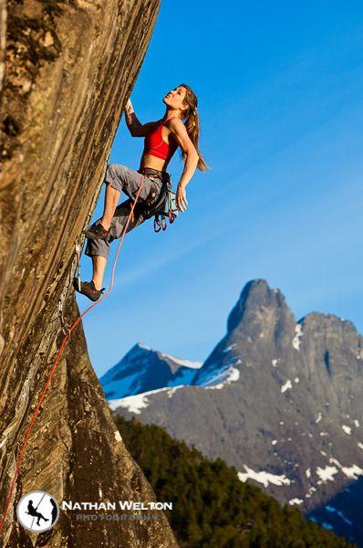 Rock Climber + Yoga Teacher ~ Rannveig Aamodt