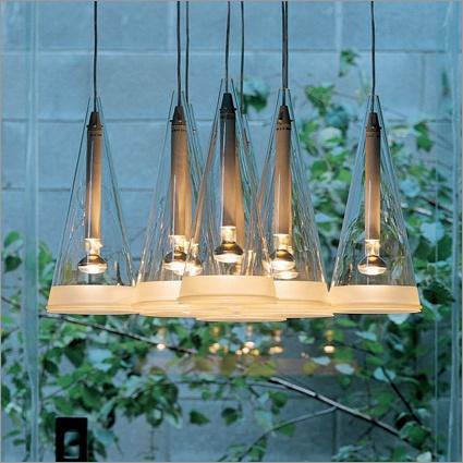 flos fucsia 8 suspension light by achille castiglioni