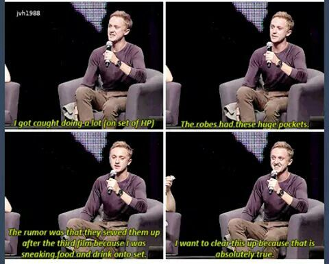 Tom Felton ladies and gentlemen