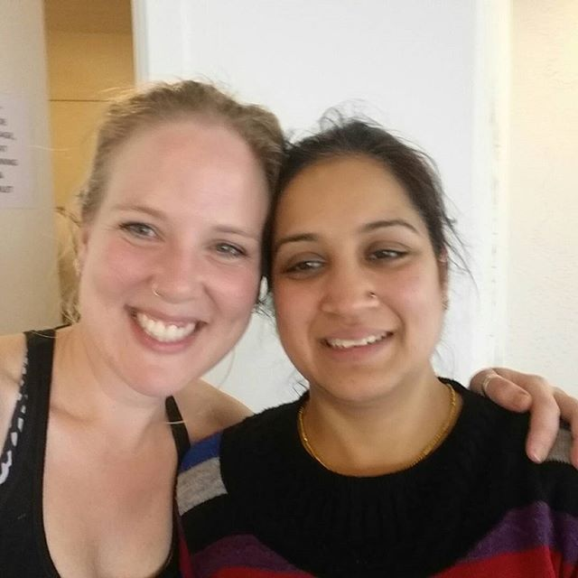What a beautiful heated vigour class with Ryu this morning! Worked the body and calmed the mind and soul 😀 Thank you Payal and Rajesh the beautiful souls in this photo for being a part of our community 💜💜#yujlife #yujlifeyoga #yogaglenosmond #adelaideyoga