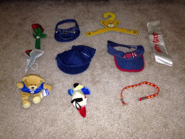 Build A Bear Accessories Lot