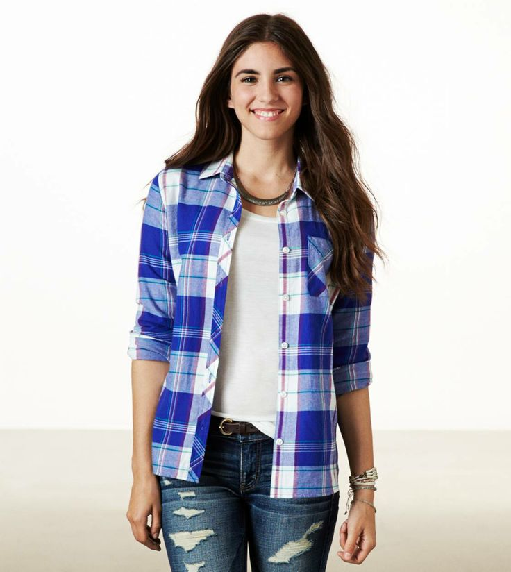 Real soft epic flannel shirt aeo and sincerely jules for Ladies soft flannel shirts