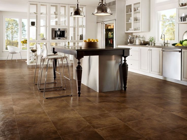 Armstrong Linoleum Kitchen Flooring