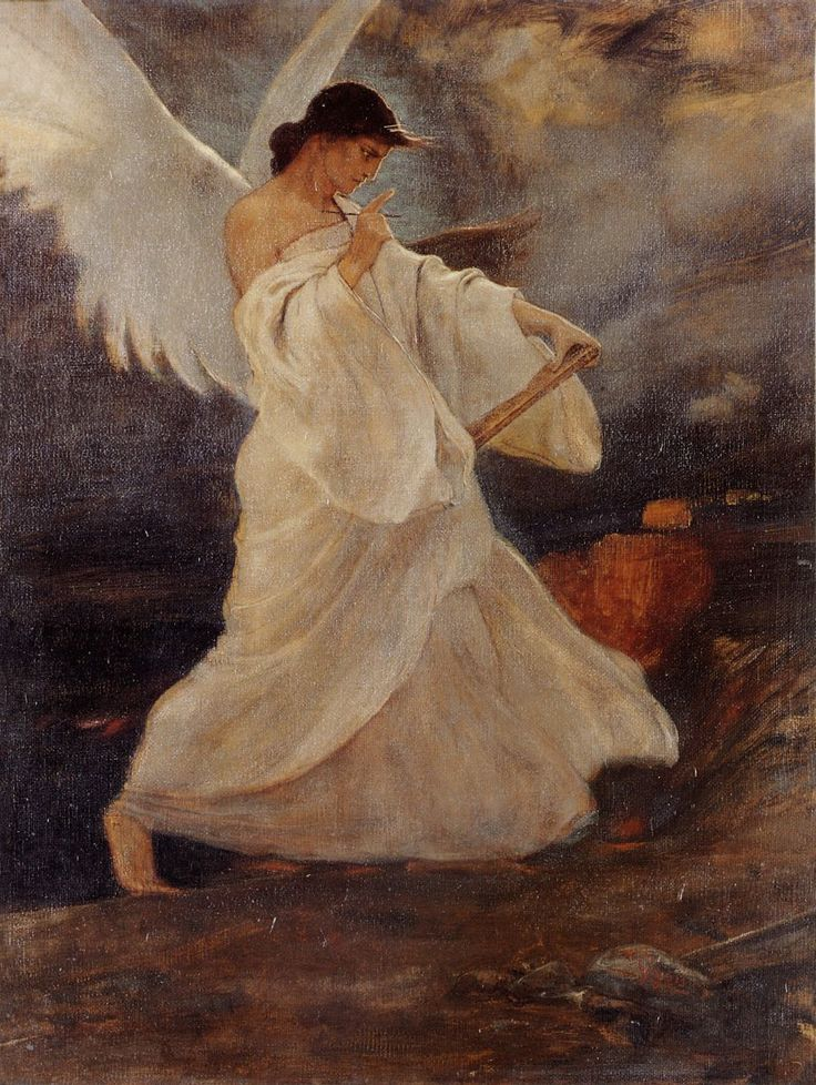 The Glory of Psara by Gyzis Nikolaos (1842-1901, Greek)