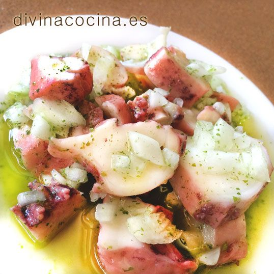 Pulpo en vinagreta » Divina CocinaRecetas fáciles, cocina andaluza y del mundo. » Divina Cocina