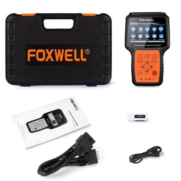 Foxwell Nt650 Obd2 Automotive Scanner Abs Airbag Sas Epb Dpf Oil Service Reset Obd 2 Odb2 Car Diagnostic Tool A Oil Service Car Diagnostic Tool Diagnostic Tool