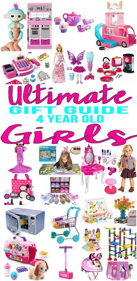 BEST Gifts 4 Year Old Girls Top Gift Ideas That Yr Will Love Find Presents Suggestions For A 4th Birthday Christmas Or Just