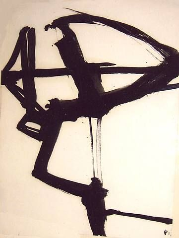 Franz Kline, 1958 Franz Kline. Franz Kline Paintings, plastic arts, visual arts, art, abstract expressionism
