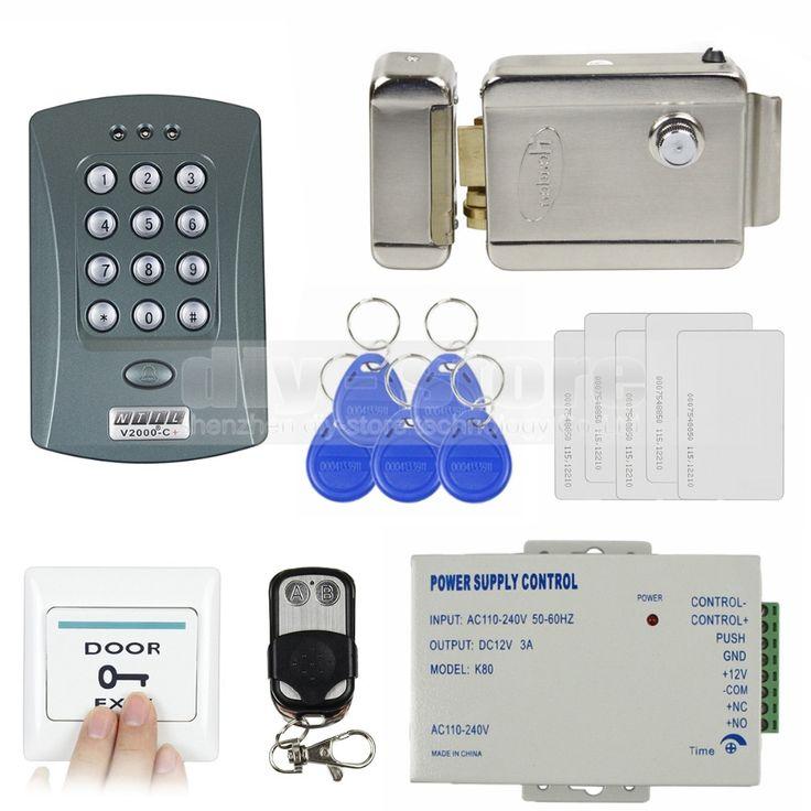 Diy full kit set id card reader password keypad access