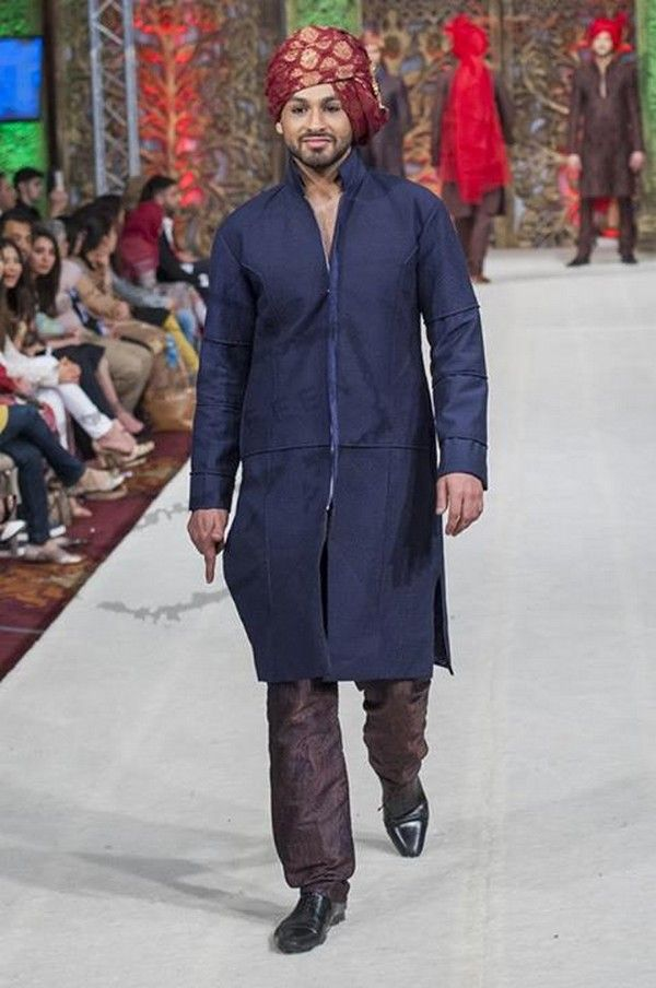 Naushemian Collection at Pakistan Fashion Week 2014 London
