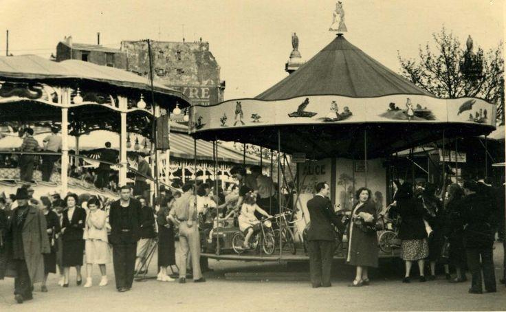 La foire du tr ne paris de mon enfance ann es 50 60 pinterest fete forraine la foire et - Place foire de paris ...