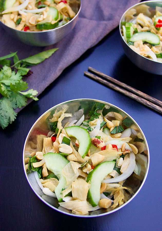 Friday Rituals + Cameron Stauch's Cucumber and Shredded Tofu