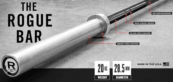 Enter to Win a FREE Brand New Rogue Barbell