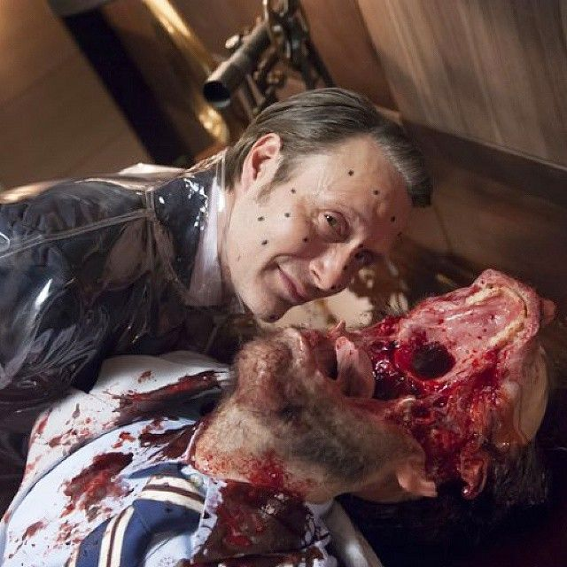 Gruesome behind the scenes shot on the set of Hannibal with a really nasty split lip/mouth ! Really great work by the Special Effects department coordinated by Shane Million. #hannibal #sfxatlas #sfx #film #movie #fxmakeup #victim #reddragon #hanniballecter #psychology #hughdancy #madsmikkelsen #morpheus #gore #horror #blood #specialeffects #visualeffects #lecter #makeup #sfxmakeup #anthonyhopkins #silenceofthelambs #death #moths