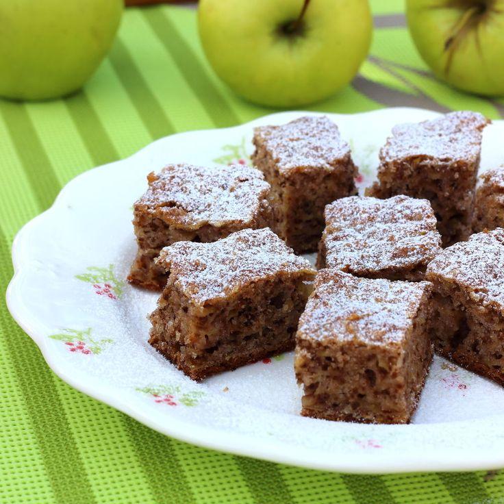 Almás diós sütemény
