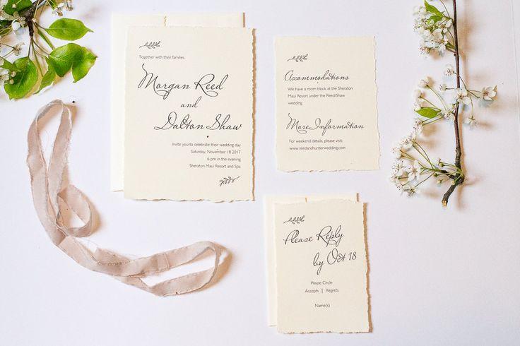 Simple Wedding Invitations Pinterest: 1000+ Ideas About Simple Wedding Invitations On Pinterest