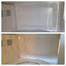 Vinegar microwave cleaner and other kitchen uses