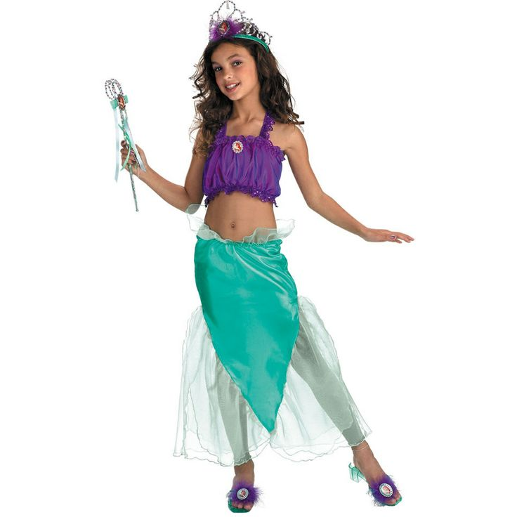 Costume Store - Princess Ariel (Disney's The Little Mermaid) Kids Costumes