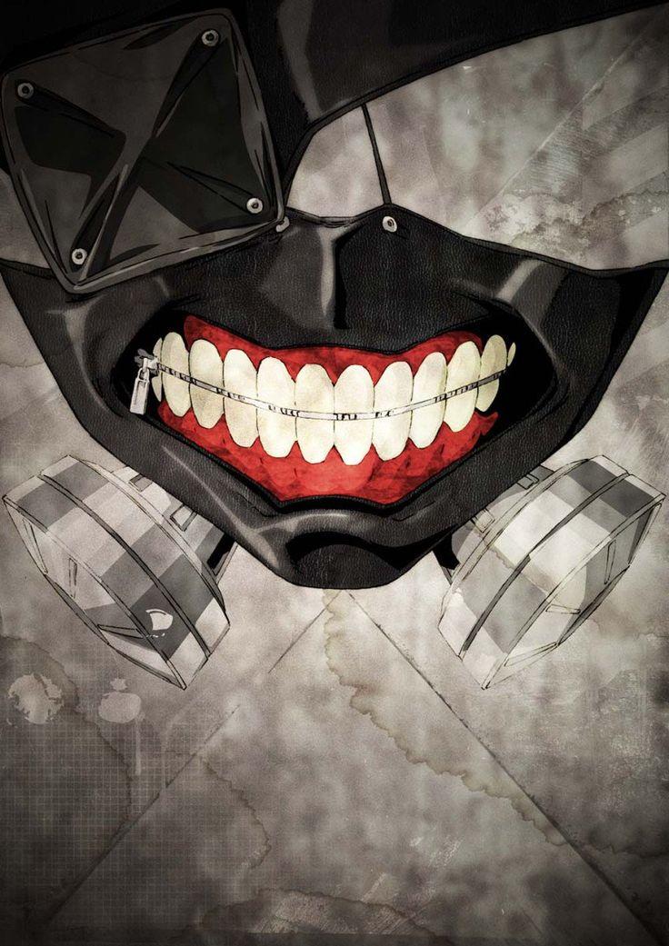 Tokyo Ghoul Kaneki Mask HD Poster