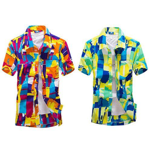 Дешевое Саншайн мальчик лето мода 2015 мужчины пляжные рубашки с коротким рукавом печатных быстросохнущие серфинга свободного покроя рубашка для Man M   4XL ST16 #, Купить Качество рубашки домашние муж. непосредственно из китайских фирмах-поставщиках:         Солнце мальчик летом моды 2015 мужчин пляж рубашки с коротким рукавом печатных          Быстрой сушки доски для