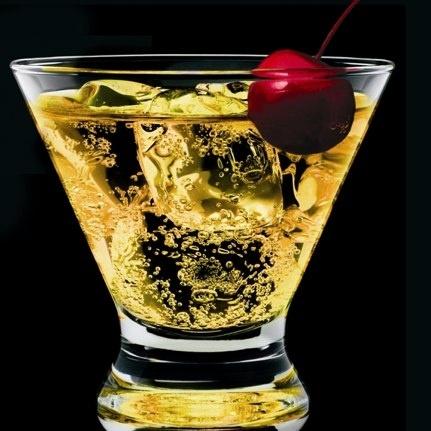 vegas bomb  3/4 oz. Crown Royal  2/4 oz. Peach Schnapps  1/4 oz. Coconut Rum  1 splash Cranberry Juice  1/2 cup Red Bull Energy Drink