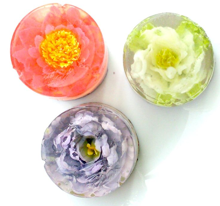 ¿Flores comestibles? Postres de gelatina artística para eventos