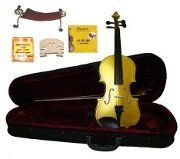 GRACE 44 Size Yellow Acoustic Violin with Case and BowRosin2 Sets Strings2 BridgesTunerShoulder Rest -- You can find out more details at the link of the image.Note:It is affiliate link to Amazon.