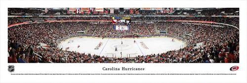 Carolina Hurricanes Panoramic Photo Print