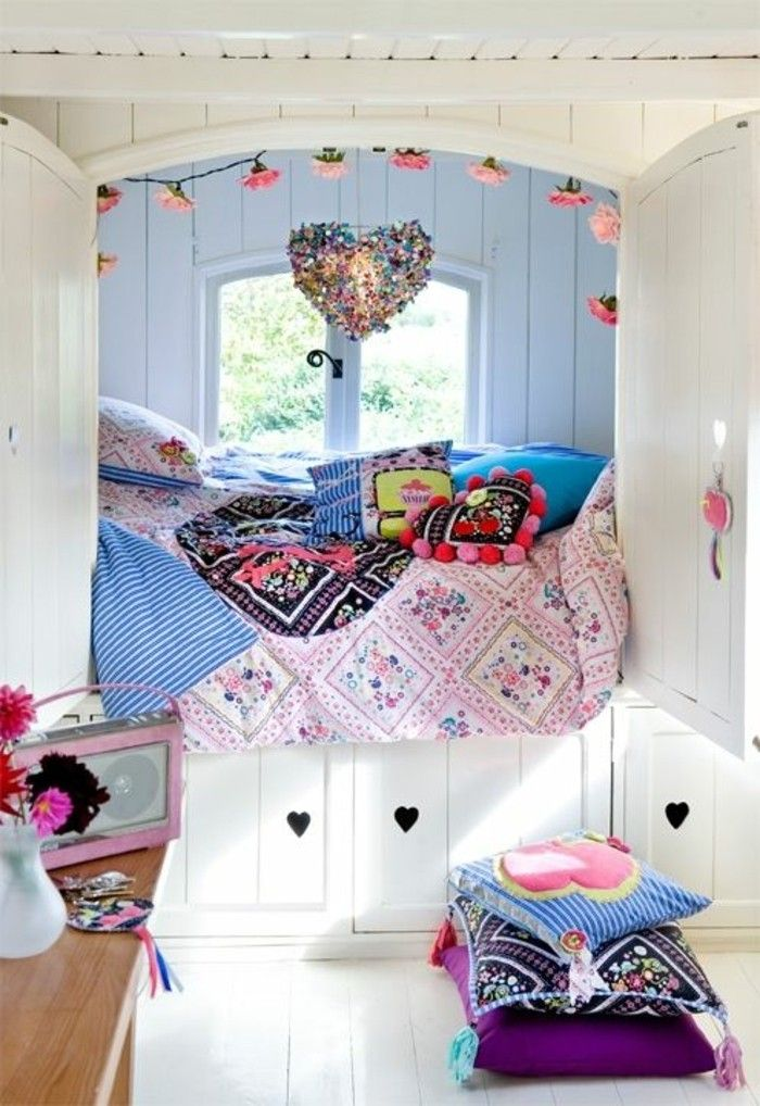 25 best chambre d ados ideas on pinterest chambre d for Decoration chambre fille
