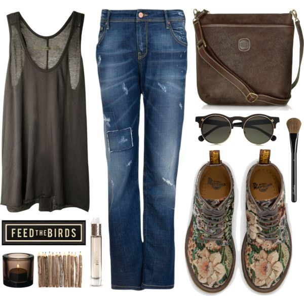 """""""One of the days when I want to stay invisible..."""" by helen-shesterneva on Polyvore"""