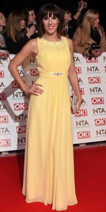 Verity Rushworth - National Television Awards 2015