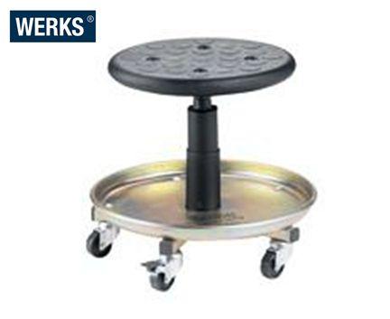 WERKS Universal Stool. Buy Workshop & Factory Online - Materials Handling - Backsafe Australia: https://www.backsafeaustralia.com.au/products/workshop-factory