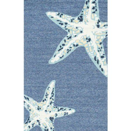 nuLOOM Hand Hooked Jonah Indoor/ Outdoor Area Rug (Base UPC 0084138812138), Blue