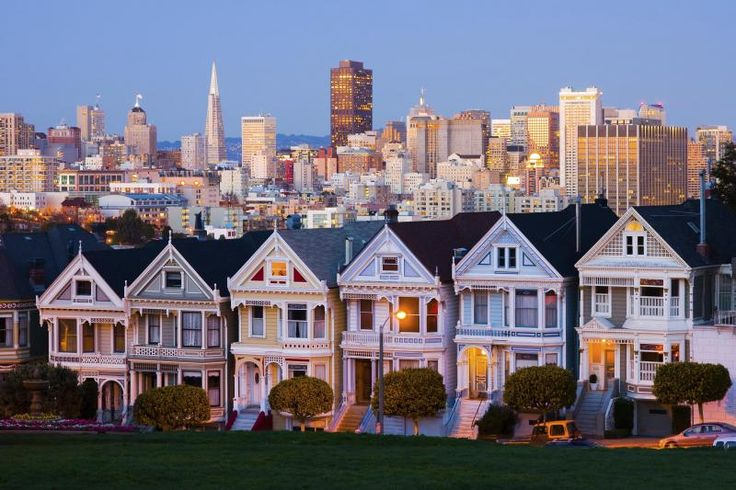San Francisco's colorful and iconic sights welcome you