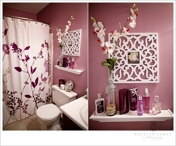 Best 25 purple bathrooms ideas on pinterest purple Mauve bathroom