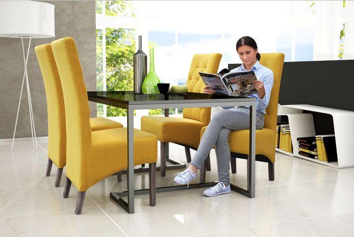 Tapicerowane krzesło do jadalni 107  https://www.centrumkrzesel.pl/krzeslo-107/3830/p  #centrumkrzesel #krzeslo #tapicerowane #jadalnia #salon #gabinet #wnętrze #design #architecture #interior #interiordesign #diningroom #modern #glamour #office