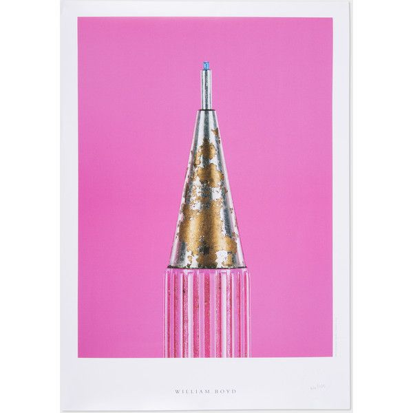 Paul Smith 'The Secret Life of the Pencil' Print by Alex Hammond and... ($130) ❤ liked on Polyvore featuring home, home decor, wall art, photography posters, british home decor, photography wall art, paul smith and literary posters