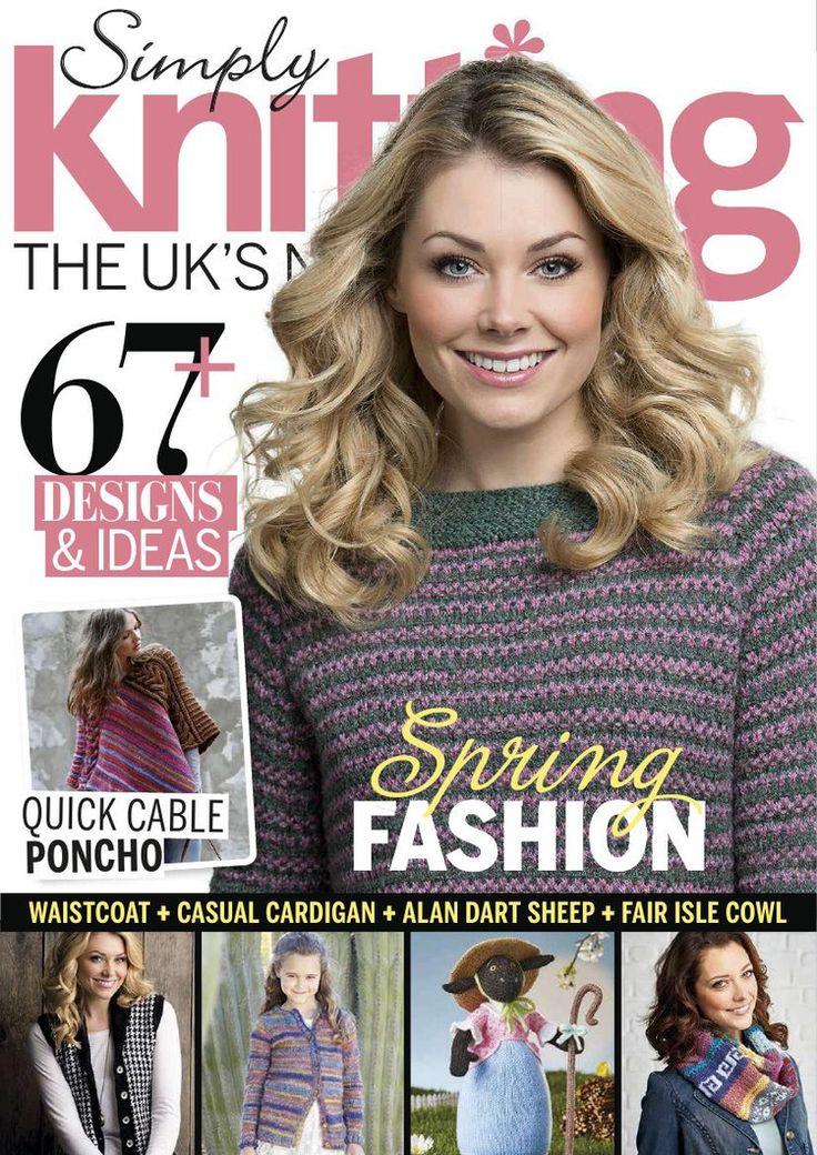 Simply Knitting Issue 131 2015 - 轻描淡写的日志 - 网易博客