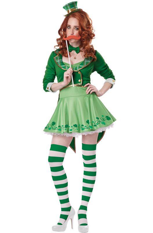 ... st patrick's day leprechaun costume for women. Miss Lucky Charm Adult  Costume - 22 Best St. Patrick's Day Costume Ideas Images On Pinterest