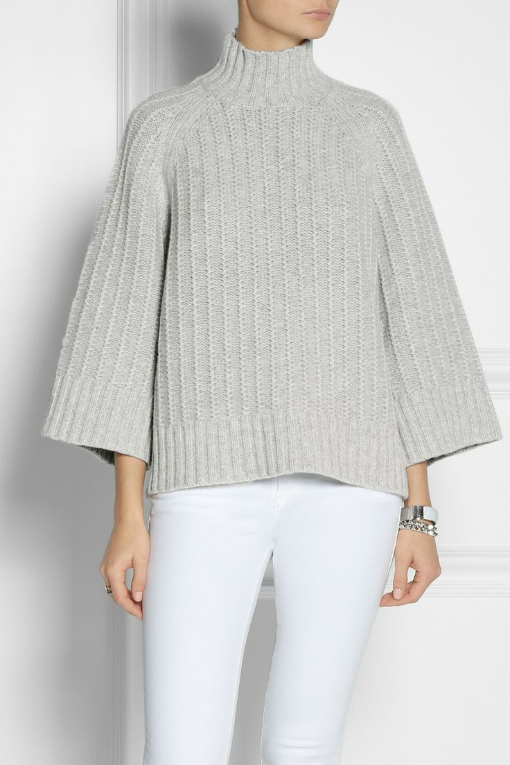Michael Kors - Chunky-knit cashmere and wool-blend sweater