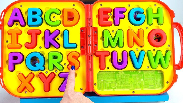 Best ABC Learning Video for Kids: Teach Toddlers Letters Alphabet Sounds...
