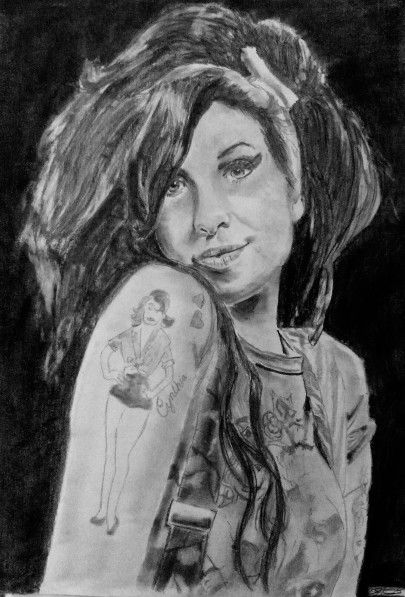Pencil-Amy Winehause