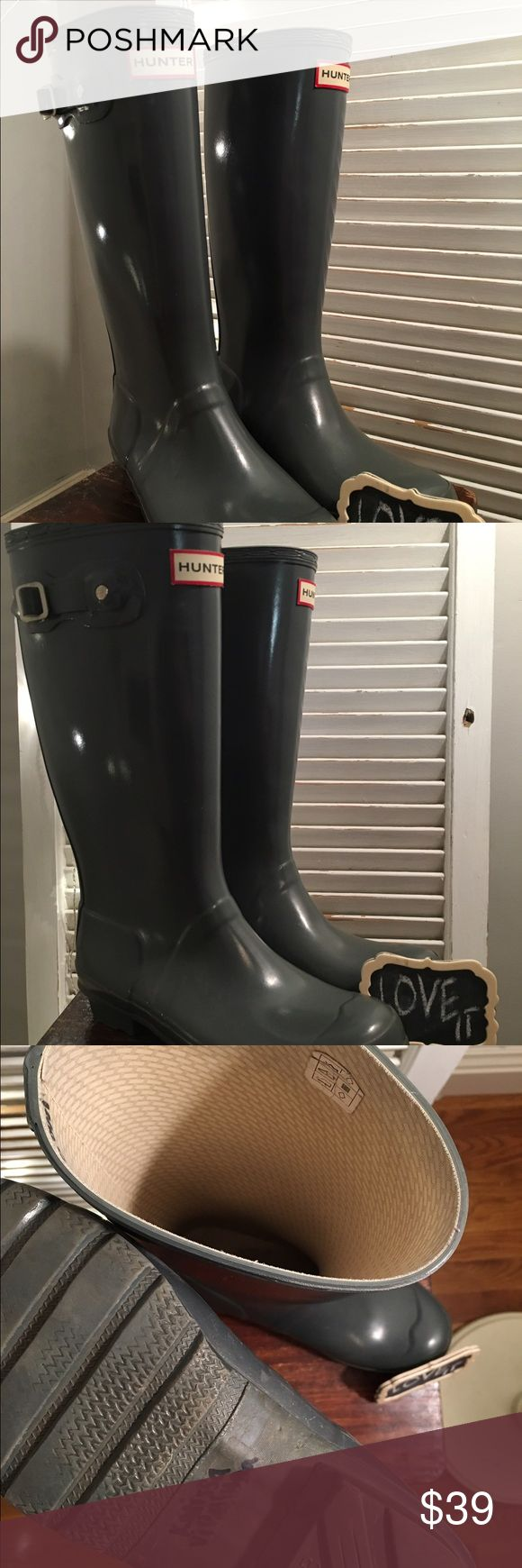 Kids Grey Hunter Boots These are the Authentic Kids Hunter boots in the Grey. :) Hunter Boots Shoes Rain & Snow Boots