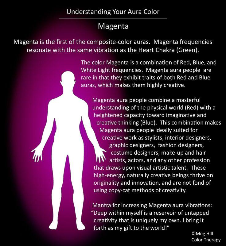 Understanding your Aura color: Magenta