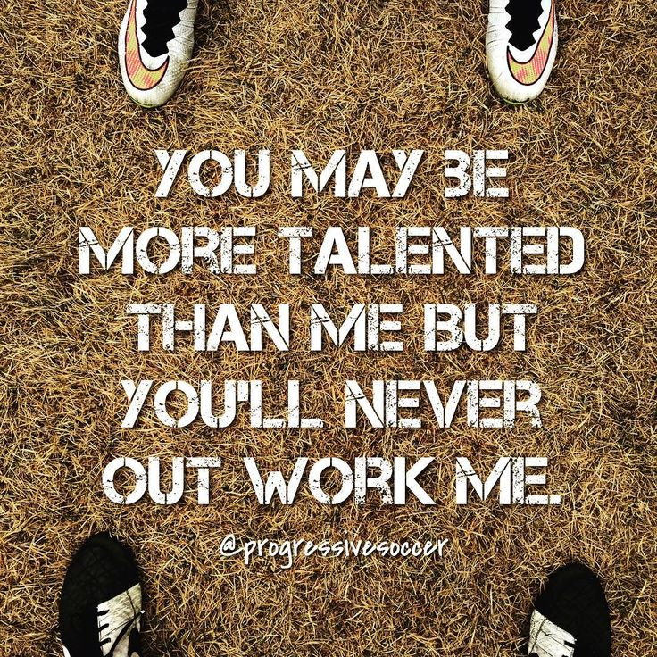Hard working players beat talented players everyday. Yet we still think we can get by on our talent alone. Improve skills BUT most importantly improve your work ethic and movement off the ball. You'll be amazed at what it does for your game.
