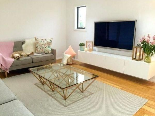 10 Geometric Accent Tables That Ll Update Any Space To A New Level Living Room Tv Stand Living Room Tv Living Room Coffee Table Living room table for tv