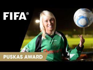 Irish woman nominated for top FIFA award!