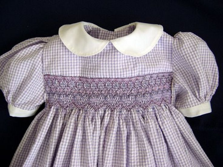 vintage smocked leaves | ... childrens smocked clothing clothing smocked smocking 2014 09 20