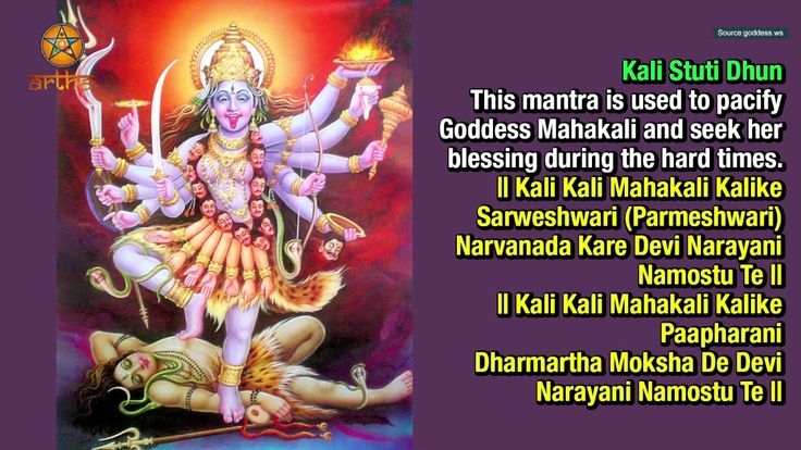 Most powerful Mantras of Mata Kali .